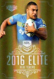 2016 NRL Elite Special Gold #SG120 Peni Terepo Eels