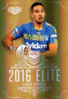 2016 NRL Elite Special Gold #SG116 Corey Norman Eels
