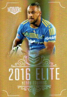 2016 NRL Elite Special Gold #SG110 Kenny Edwards Eels