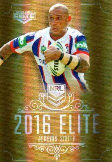 2016 NRL Elite Special Gold #SG95 Jeremy Smith Knights