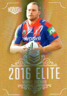 2016 NRL Elite Special Gold #SG93 Robbie Rochow Knights