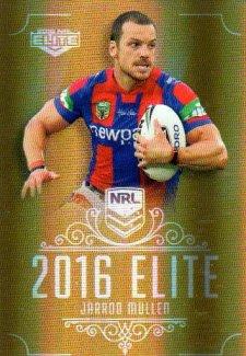 2016 NRL Elite Special Gold #SG91 Jarrod Mullen Knights