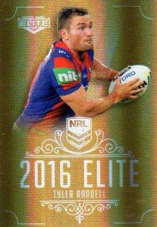 2016 NRL Elite Special Gold #SG92 Tyler Randell Knights