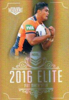 2016 NRL Elite Special Gold #SG90 Pat Mata'utia Knights