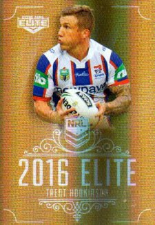 2016 NRL Elite Special Gold #SG88 Trent Hodkinson Knights