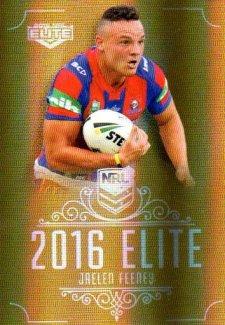 2016 NRL Elite Special Gold #SG86 Jaelen Feeney Knights