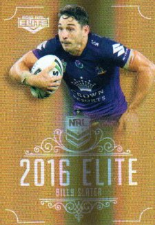 2016 NRL Elite Special Gold #SG83 Billy Slater Storm