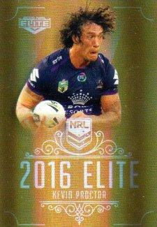 2016 NRL Elite Special Gold #SG82 Kevin Proctor Storm