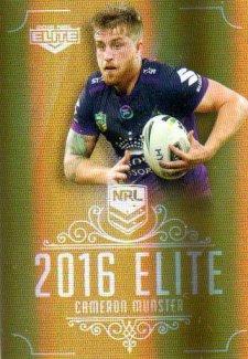 2016 NRL Elite Special Gold #SG81 Cameron Munster Storm