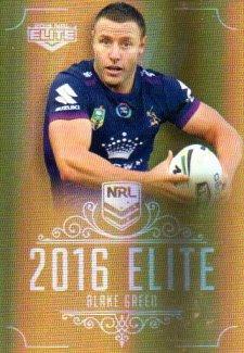 2016 NRL Elite Special Gold #SG79 Blake Green Storm