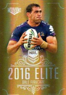 2016 NRL Elite Special Gold #SG78 Dale Finucane Storm