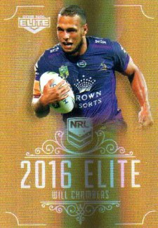 2016 NRL Elite Special Gold #SG76 Will Chambers Storm