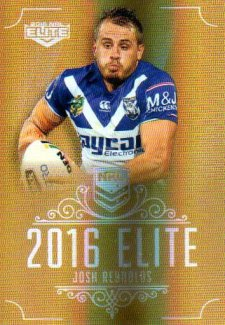 2016 NRL Elite Special Gold #SG35 Josh Reynolds Bulldogs