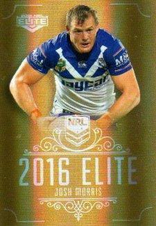 2016 NRL Elite Special Gold #SG33 Josh Morris Bulldogs