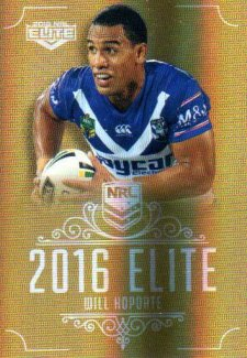 2016 NRL Elite Special Gold #SG30 Will Hopoate Bulldogs