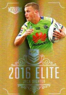 2016 NRL Elite Special Gold #SG24 Jack Wighton Raiders