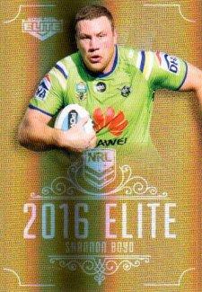 2016 NRL Elite Special Gold #SG15 Shannon Boyd Raiders