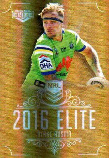 2016 NRL Elite Special Gold #SG14 Blake Austin Raiders
