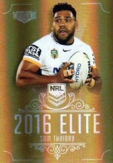 2016 NRL Elite Special Gold #SG12 Sam Thaiday Broncos