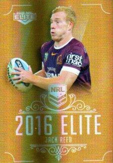 2016 NRL Elite Special Gold #SG10 Jack Reed Broncos