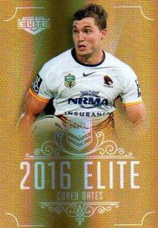 2016 NRL Elite Special Gold #SG8 Corey Oates Broncos