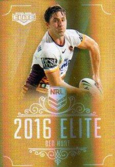2016 NRL Elite Special Gold #SG5 Ben Hunt Broncos
