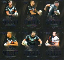 2016 NRL Elite 12-Card Base Team Set Wests Tigers