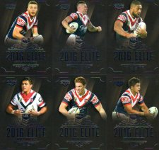 2016 NRL Elite 12-Card Base Team Set Sydney Roosters