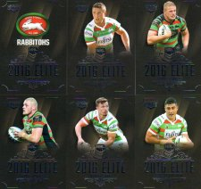 2016 NRL Elite 12-Card Base Team Set South Sydney Rabbitohs
