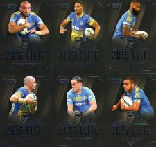 2016 NRL Elite 12-Card Base Team Set Parramatta Eels