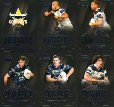2016 NRL Elite 12-Card Base Team Set North Queensland Cowboys