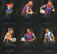 2016 NRL Elite 12-Card Base Team Set Newcastle Knights