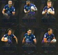 2016 NRL Elite 12-Card Base Team Set Melbourne Storm