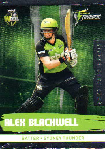 2016/17 CA & BBL Cricket Silver Parallel #197 Alex Blackwell Sydney Thunder