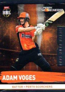 2016/17 CA & BBL Cricket Silver Parallel #162 Adam Voges Perth Scorchers