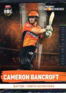 2016/17 CA & BBL Cricket Silver Parallel #151 Cameron Bancroft Perth Scorchers