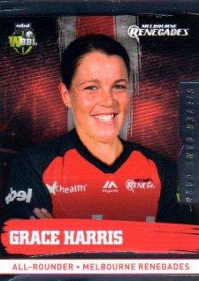 2016/17 CA & BBL Cricket Silver Parallel #129 Grace Harris Melbourne Renegades
