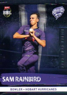 2016/17 CA & BBL Cricket Silver Parallel #106 Sam Rainbird Hobart Hurricanes