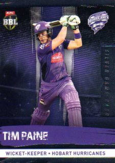 2016/17 CA & BBL Cricket Silver Parallel #105 Tim Paine Hobart Hurricanes