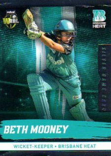 2016/17 CA & BBL Cricket Silver Parallel #98 Beth Mooney Brisbane Heat
