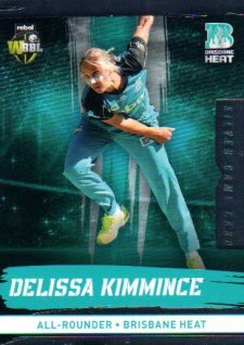 2016/17 CA & BBL Cricket Silver Parallel #97 Delissa Kimmince Brisbane Heat