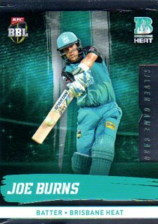 2016/17 CA & BBL Cricket Silver Parallel #83 Joe Burns Brisbane Heat