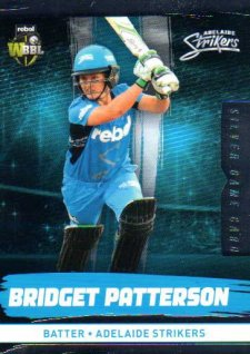 2016/17 CA & BBL Cricket Silver Parallel #79 Bridget Patterson Adelaide Strikers