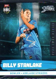 2016/17 CA & BBL Cricket Silver Parallel #77 Billy Stanlake Adelaide Strikers