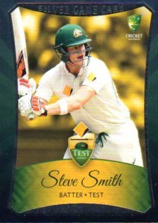 2016/17 CA & BBL Cricket Silver Parallel #13 Steve Smith Australian Test