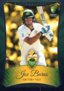 2016/17 CA & BBL Cricket Silver Parallel #2 Joe Burns Australian Test
