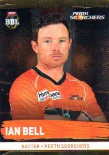 2016/17 CA & BBL Cricket Gold Parallel #153 Ian Bell Perth Scorchers