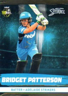 2016/17 CA & BBL Cricket Gold Parallel #79 Bridget Patterson Adelaide Strikers