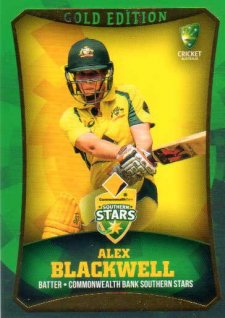 2016/17 CA & BBL Cricket Gold Parallel #18 Alex Blackwell Southern Stars
