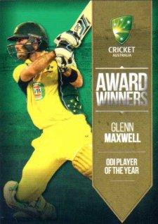 2016/17 Tap N Play CA & BBL Cricket Award Winners AW-04 Glenn Maxwell